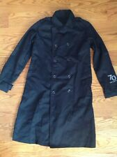 Tupperware Chef Coat Men's Size Small Black Long Sleeve Lined 70 Years Of Party