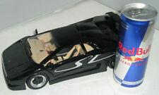 Modellini di auto e moto radiocomandati nero, scala 1:18