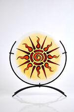 Flachkerze handbemalt Kerze dekorative Flachkerze PM516