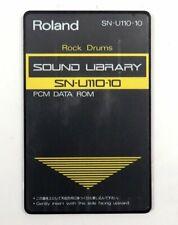 Roland ROM SN-U110-10 SoundLibrary Rock Drums für Roland U-110 U-220 U-20 JV1080
