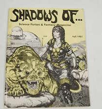 Shadows Of Science Fiction Fantasy Magazine 5 1981