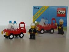 Lego: Legoland: 6505: Fire Chief's Car Loose Toy