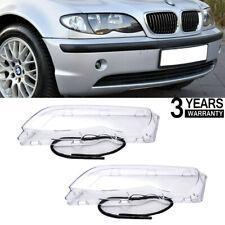 Scheinwerferglas SET+Dichtungsband passt für BMW E46 FACELIFT Limousine Touring