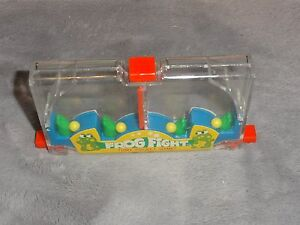 Vintage Tomy Pocket Game Frog Fight #7029