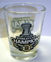 BOSTON BRUINS 2011 STANLEY CUP CHAMPS champions SHOT GLASS #1