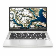 "HP 14a 14"" Chromebook - Intel® Pentium® Silver, White Excellent Condition"