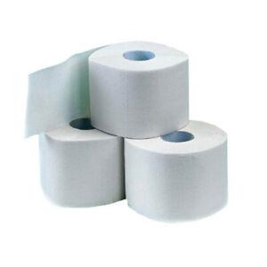 144 Rollen 3-lagig Toilettenpapier 250 Blatt weiß WC-Papier