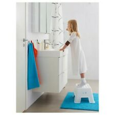 IKEA BOLMEN BBathroom stool white step stool 25cm to 150kg non-slip step USED