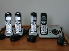 Uniden Dect 1580-4 Digital Answering System with 3 extra handsets