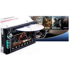 """6.2"""" HD 2 DIN In-dash Bluetooth Car Stereo DVD MP3 Player FM Radio Touch Screen"""