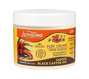 Activilong Actiforce Puff Cream Black Castor Oil Mamey Sapote 300 ml
