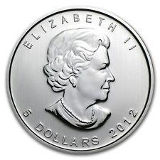 2012 1 oz Canadian Silver Maple Coin (BU) - SKU 0140