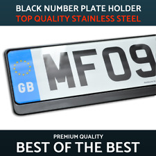 "Número de Negro Corto Pequeño 4D Reg placas 3D gel de resina 4-5 caracteres 13/"" 16/"" 18/"""