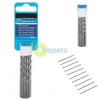 BlueSpot Metal HSS Metric Drill Bits set 10pc Pack 3.2mm for Steel & Wood