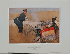 Name and address by Lawson Wood Police themed reproduction print