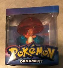 2005 Pokemon Charmander Christmas Ornament Figure in Pokeball in retail box