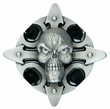Skull Talisman Belt Buckle - Black