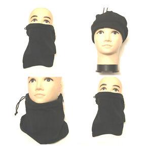 FLEECE NECK WARMER 3 IN 1 HAT - SCARF - NECK WARMER - WARM WINTER
