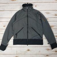 Columbia Titanium Tech Black Gray Full Zip Soft Shell Jacket Womens Size S
