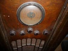 RCA Victor Tube Radio Model 224 Original Globetrotter Dial Glass Cover