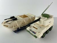 Vintage GI Joe Dominator Snow Tank Battle Force 2000 Hasbro 1987 Almost Complete