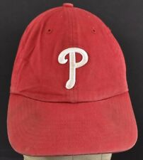 Red Philadelphia Phillies P Logo Embroidered baseball hat cap Adjustable Strap