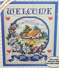 Welcome Sampler Home Counted Cross Stitch Kit 1993