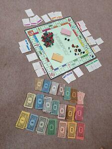 Vintage Monopoly Waddingtons Original Classic 1960s Edition Board Game
