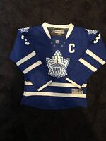 Toronto Maple Leafs Youth L Reebok NHL Jersey #3 C Dion Phaneuf