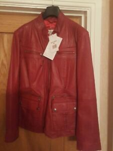 Linea tesini Ladies Leather Jacket size 14