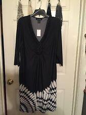 Black Dress With Beaded Collar Plus 14/16