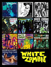 """WHITE ZOMBIE album discography magnet (4.5"""" x 3.5"""") pantera monster magnet tool"""