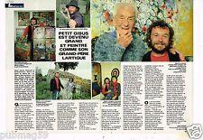Coupure de presse Clipping 1986 (2 pages) Petit Gibus Martin Lartigue
