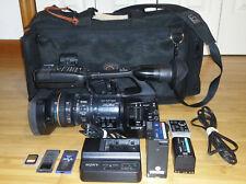 Sony PMW-EX1R XDCAM HD SxS Pro Camcorder Work Well, w/Porta Brace Bag Extras EX1