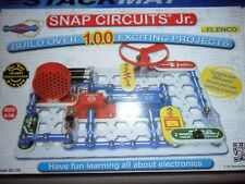Snap Circuits Jr. by Elenco, Model SC-100, build over 100 projects