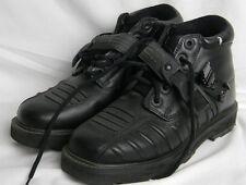 Icon Super Duty Womens Boots Black Motorcycle Motor Bike Street Locking Size 8