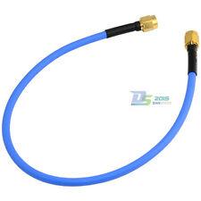 "30cm RP-SMA Male Jack- Male RF Coax Semi-rigid RG402 0.141"" Jacket Pigtail Cable"