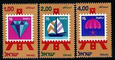 ISRAEL 1976 607/9  3v.