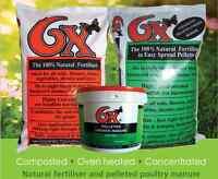 Organico Natural 6x Odourless Pelletted Chicken Fertiliser Organic No Chemicals