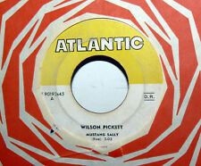 "WILSON PICKETT II° RECORD RARE  7"" MUSTANG SALLY  ITALY  1966 THREE TIME LOSER"