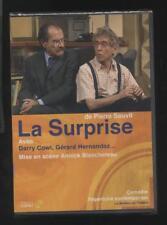 NEUF DVD PIECE DE THEATRE LA SURPRISE AVEC DARRY COWL GERARD HERNANDEZ R. KALIS