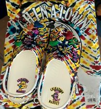 New Rare Grateful Dead x Chinatown Market Size M10/W12 Mens 10 Womens 12 Crocs