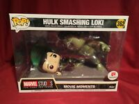 GREAT CNDT BOX Funko Pop WALGREEN'S HULK SMASHING LOKI #362 Marvel Movie Moments