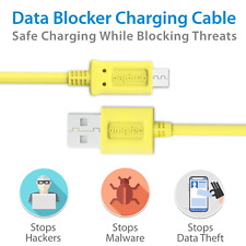 USB DATA BLOCKER CABLE - Micro USB Charging Cable with Data Blocking Feature