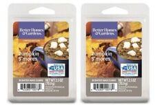(2 Pack) Better Homes & Gardens Pumpkin S'mores Latte Scented Wax Cubes Melts