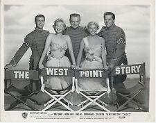 THE WEST POINT STORY original posed photo DORIS DAY/JAMES CAGNEY/VIRGINIA MAYO