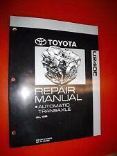 2000 TOYOTA CELICA AUTOMATIC TRANSAXLE ORIGINAL FACTORY SERVICE MANUAL U240E