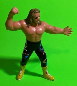 WCW Galoob UK Michael PS Hayes from Freebirds Wrestling Figure