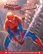 Marvel Spider Man Book of Secrets by Parragon (Hardback, 2012)