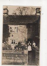 Plague Cottage Eyam Derbyshire Vintage RP Postcard Sneath 366b